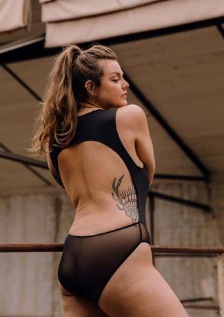Bertille Isabeau Lingerie Black N3  Solenne Jakovsky