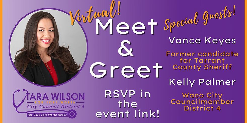 Virtual Meet & Greet with Tara Wilson FWCC District 4