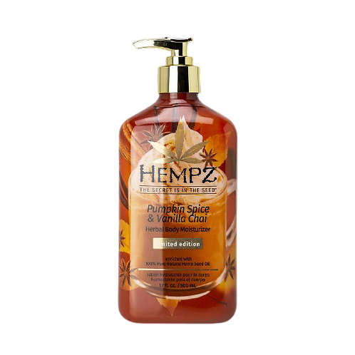 Hempz Pumpkin Spice & Vanilla Chai moisturizer