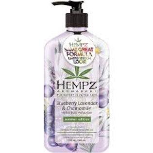 Blueberry Lavender & Chamomile moisturizer