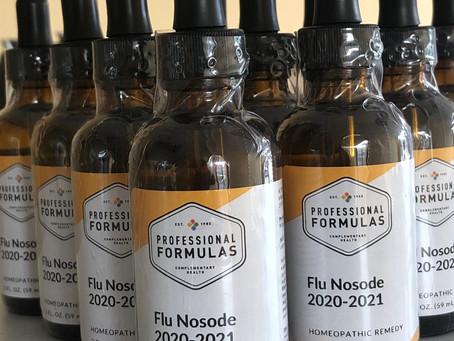 2020/2021 Flu Nosode is in