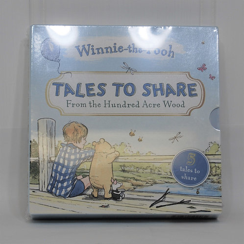 """Winnie The Pooh - """"Tales to Share"""" Hardcover Set of 5 Books"""