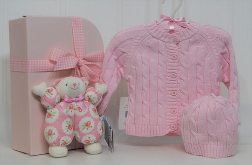 Baby Tots Cardigan and Lulu Bear