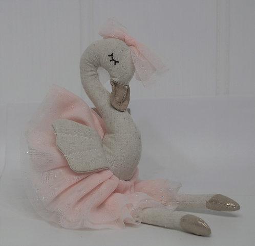 Princess Odessa Swan with Pink Tutu
