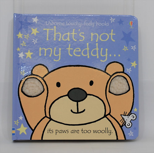 That's Not My Teddy Hardcover Touchy-Feely Book