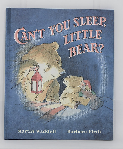 Can't You Sleep Little Bear Hardcover Book