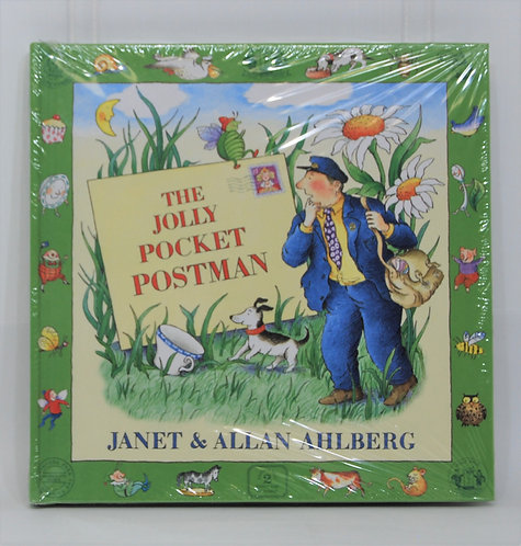 The Jolly Pocket Postman Hardcover Book