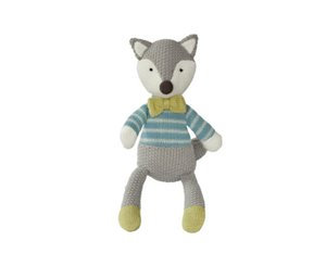 Baby Boo Knitted Fox