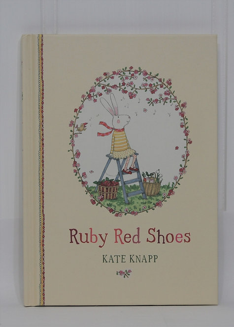 Ruby Red Shoes Hardcover Book