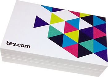 tex business cards