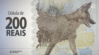 Lançada a nova cédula de R$ 200.