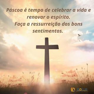 Um novo mês, Páscoa e Ressurreição.
