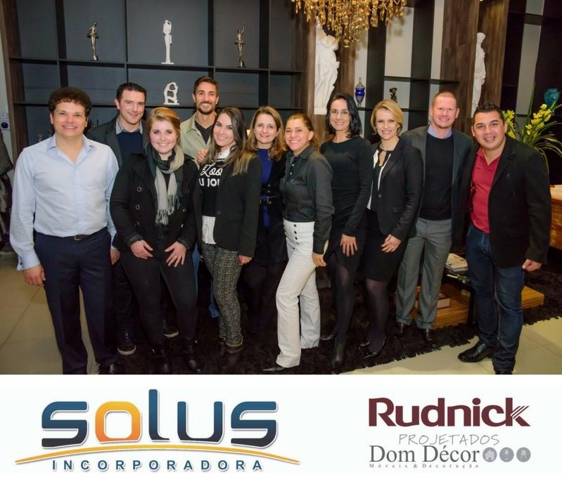Equipe Solus Incorporadora e Rudnick Projetados-Dom Décor