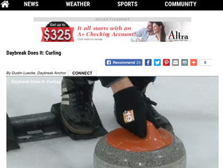 News 19's Visit to Learn How to Curl!