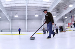 Stick Curling