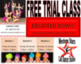 Free Trial Classes Session Dates and Tim