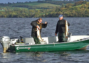 Pike Fishing on Lough Derg