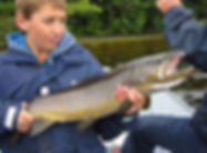 big Ferox Trout from Lough Derg
