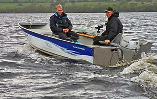 Marinene boat on Lough Derg