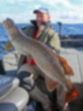 A 121cm pike from Lough Derg
