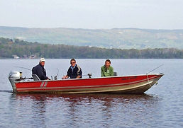 Rent an aluminium boat in Ireland