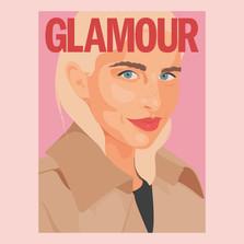 Glamour Germany Cover - Caroline Daur