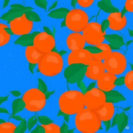 Tangerine pattern 🍊