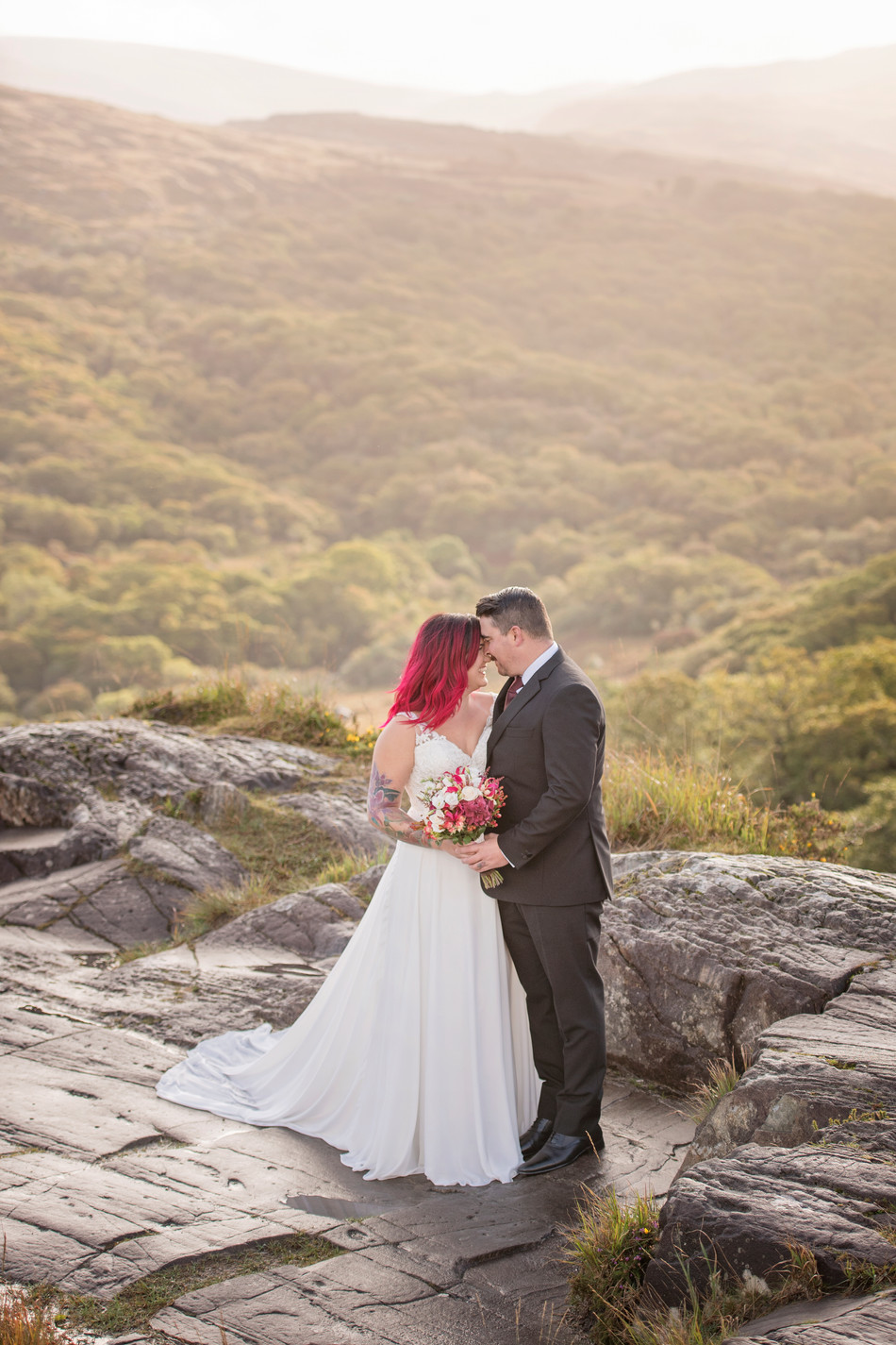 Allie and Joe: An Irish Dream Renewal | Ring of Kerry, Ireland | Destination Wedding