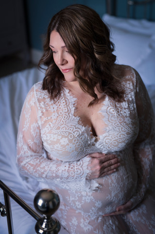 Boise Maternity Boudoir Photographer | Happy Hour Beauty & Boudoir by Carly Moon Images LLC
