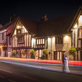 Chyanna and Randall: The Swan, Lavenham, UK | Carly Moon Images