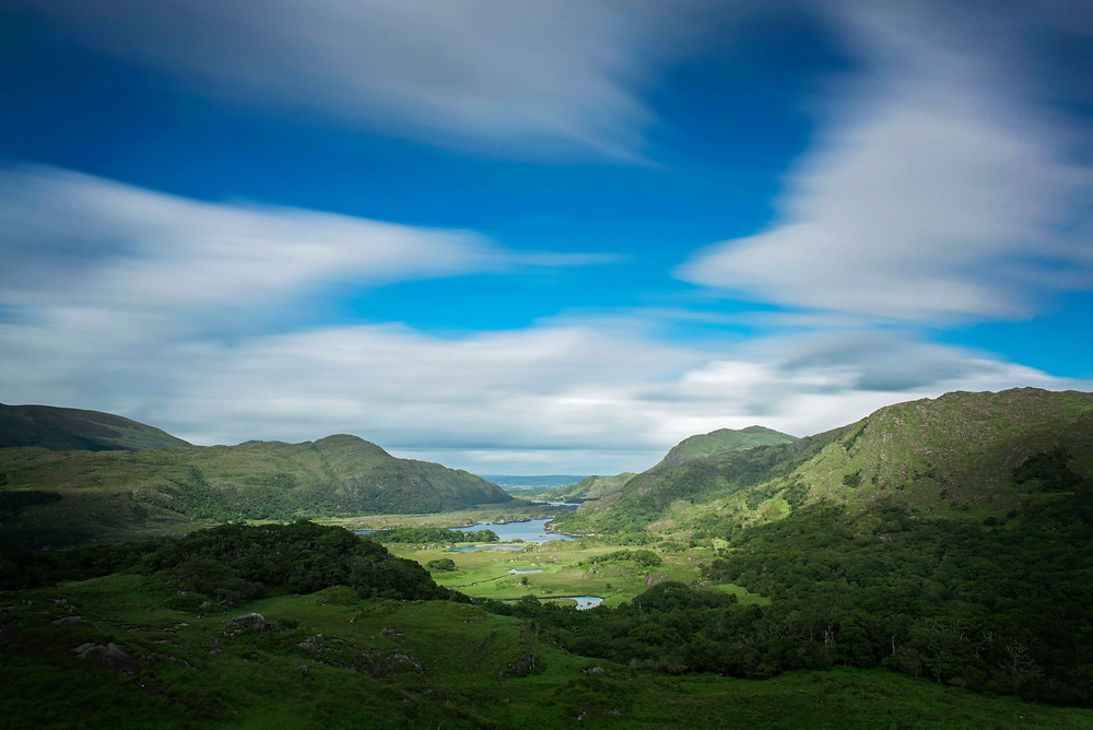 Ladie's View, just outside of Killarney