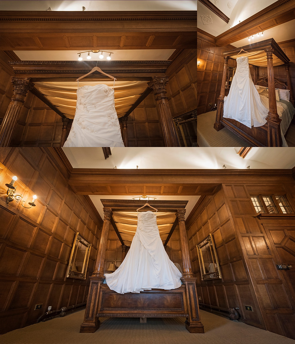 THE DRESS! THAT BED!
