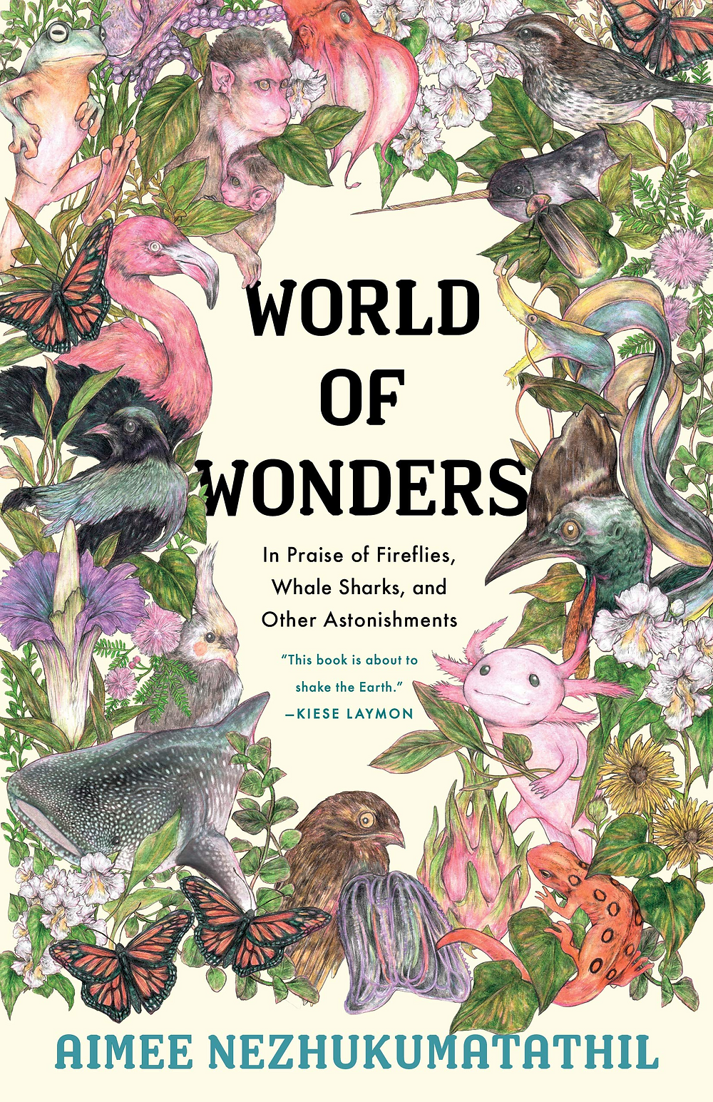 Cover image of the book World of Wonders by Aimee Nezhukumatathil