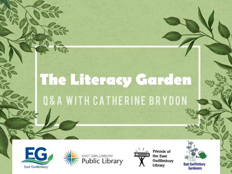 Interview: Catherine Brydon on The Literacy Garden