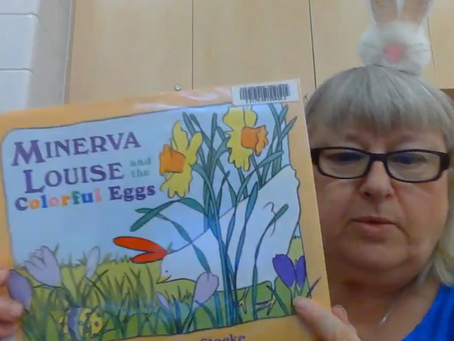 Storytime May 27 - Minerva Louise and the Colorful Eggs