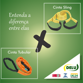 Diferenças entre as cintas Sling X Tubulares
