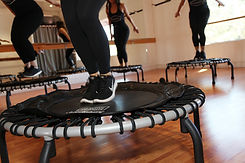 barre bounce trampoline rebounder