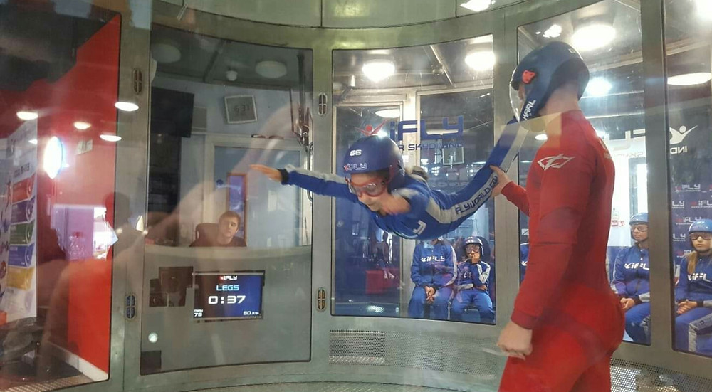 ifly indoor skydive review / life's an adventure