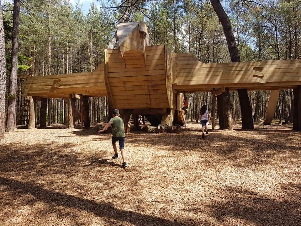 Moors Valley Country Park kid family review