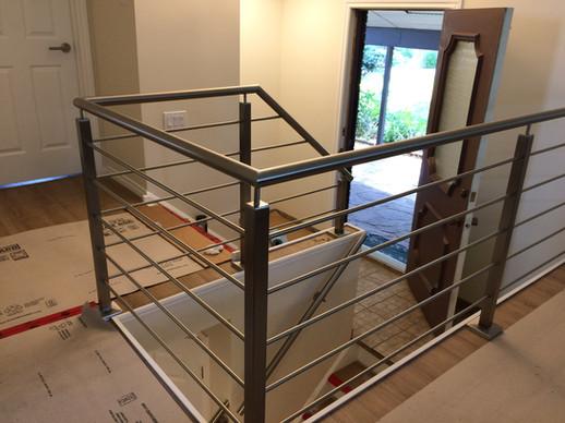 Front foyer railing