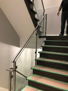 3 floor staircase