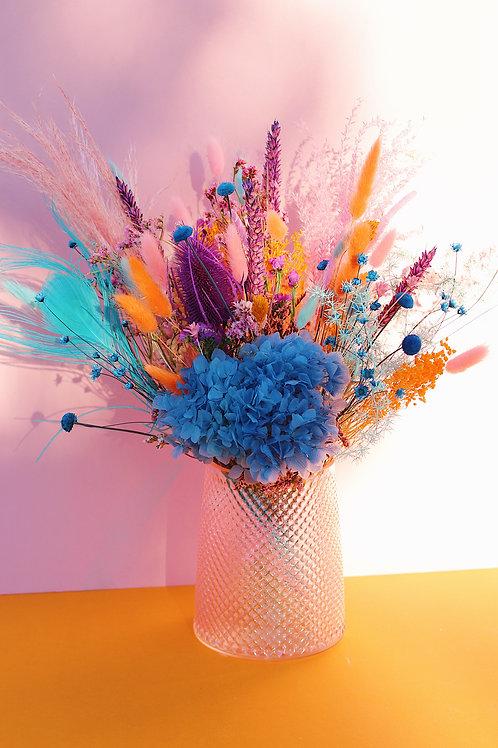 Grand Bouquet Clémentine mauve