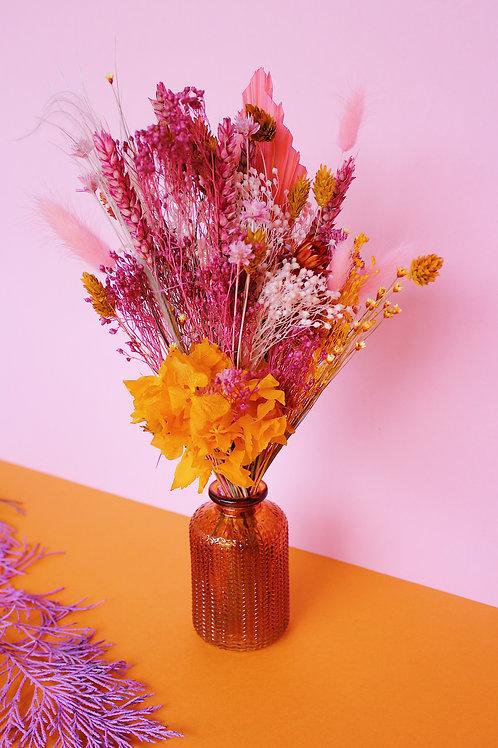 Bouquet Papaye rose
