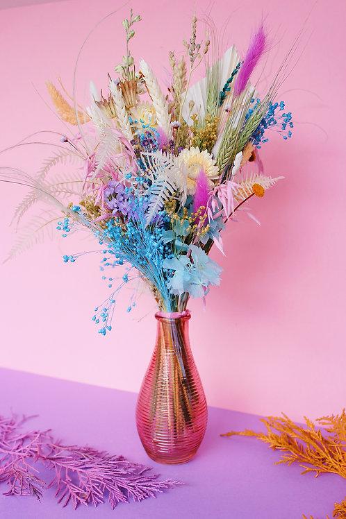 Bouquet Neige bleue