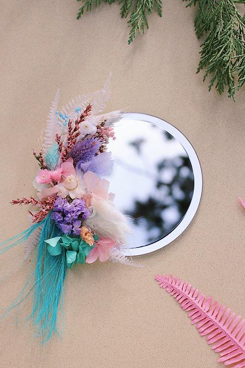 Petit miroir Sable blanc