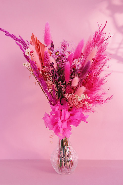 Bouquet Framboise rose