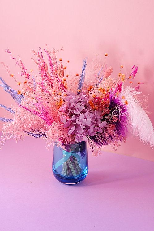 Bouquet Litchi bleu