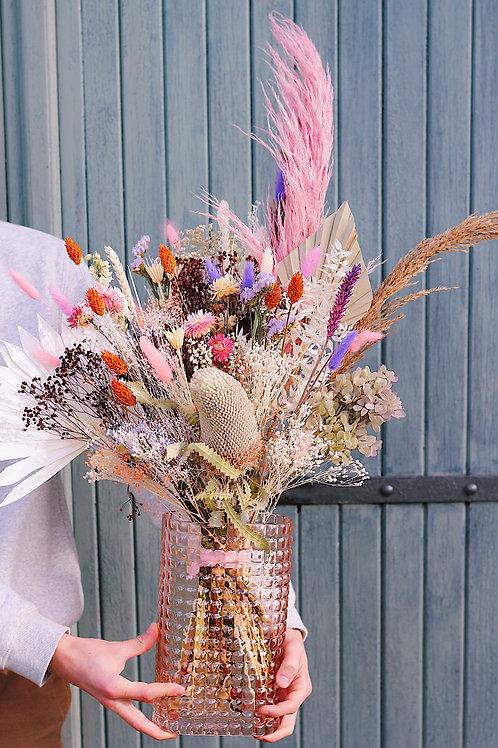 Grand bouquet Poire mauve