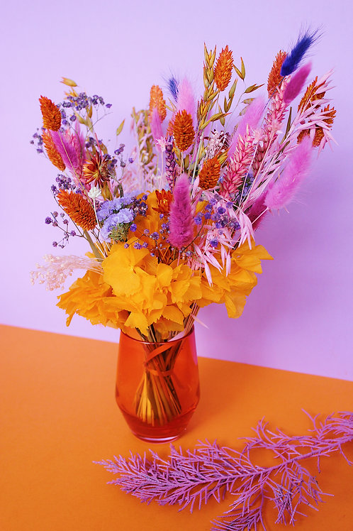 Bouquet Lilas orange