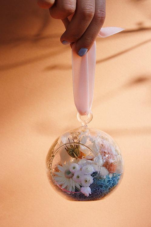 Boule fleurie Poire nude
